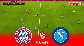 Bayern Munchen vs Napoli - Friendly Match & All Goals 2021 - PES 2021 efootball